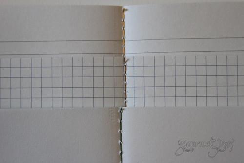 Banditapple Carnet Stitching Inside