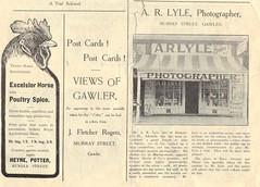 The Critic Souvenir .Sep1906 page3. AR Lyle