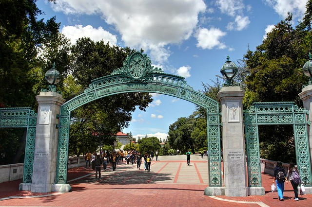 Scenes from UC Berkeley - Sather Gate | Flickr - Photo ...