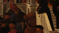 "Happy Horse - detail from Giovanni Mansueti's ""San Marco risana Aniano"""