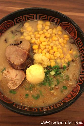 Hokkaido Butter and Corn Miso, Hokkaido Gantetsu Ramen