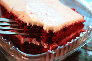 Red Velvet Cake Nancy's Bar-B-Q Sarasota