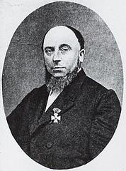 <p>Portret van Julien Wolbers (1819-1889). Gedrukte reproductie (autotypie) van een anonieme foto uit ca. 1879. Coll. Het Utrechts Archief.</p>