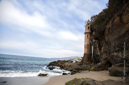 Old Tower on Laguna Beach - Victoria Beach