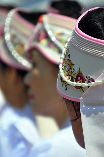 Celebrating Buddha's Birthday 2012 -- Beautiful Hats