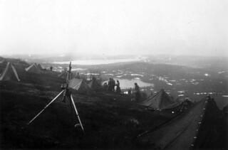 Klargjøringsområdet på finsk side i Titowka
