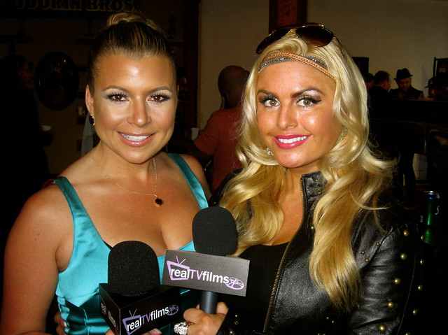 Dana Wilkey, Real Housewives of Beverly Hills, Tia Barr, Backstage Artist Lounge Party