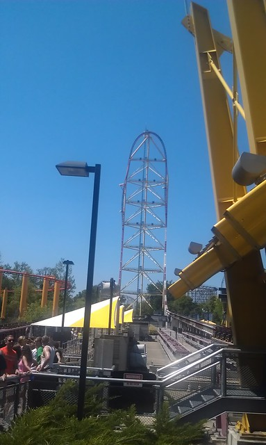 2012 06 Cedar Point: Top Thrill Dragster
