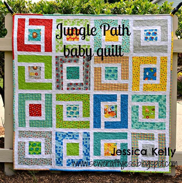 Moda Bake Shop Jungle Path Baby Quilt