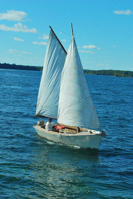 My father's sailboat