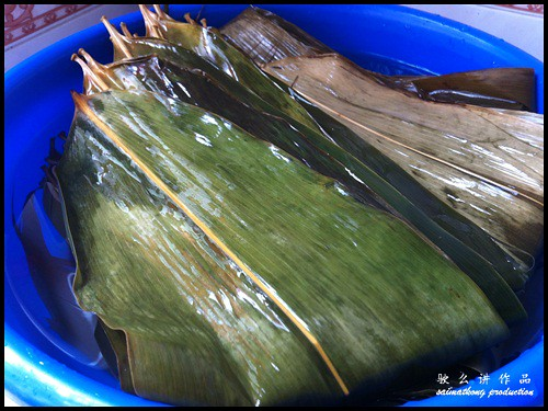 Bamboo leaves 粽竹叶