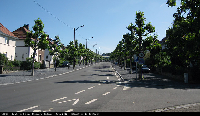 Le boulevard Jean-Théodore Radoux