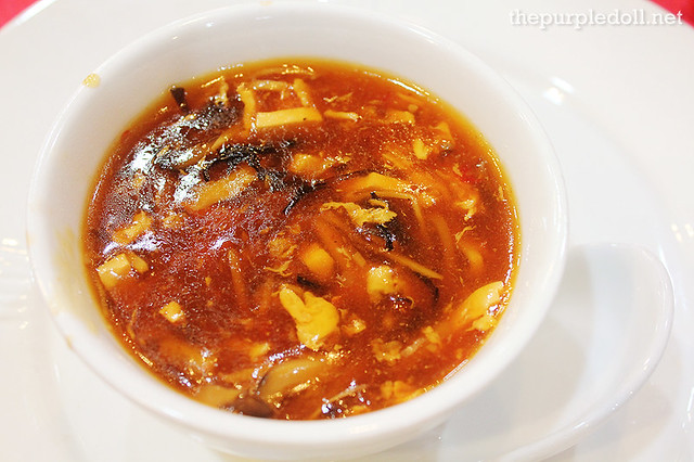 Hot and Sour Soup Small P160 Medium P300 Large P490