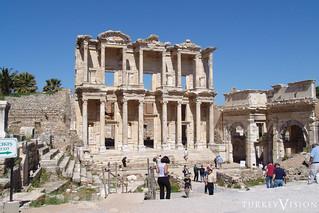 Celsus Library in Ephesus, Efes, Turkey