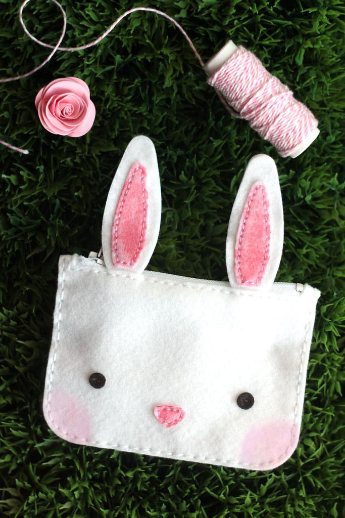 bunny coin purse