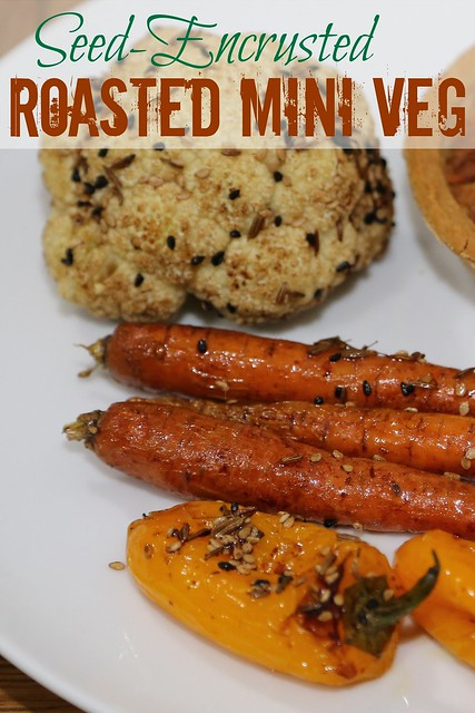 Seed-Encrusted Roasted Vegetables