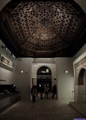 Techumbre mudéjar de Sevilla (Museo Arqueológico Nacional)