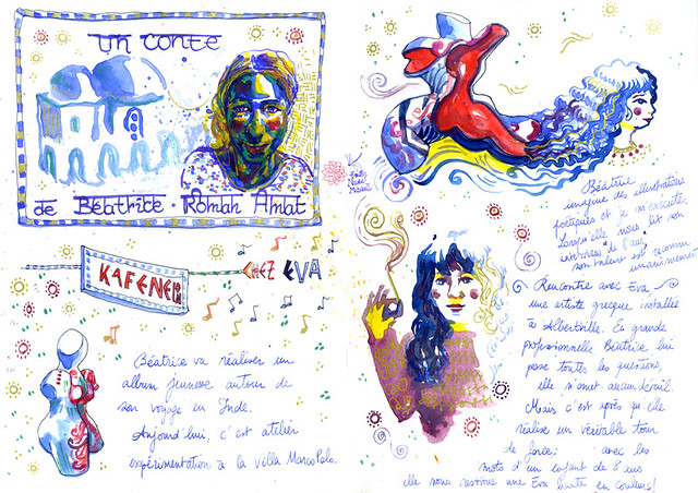 Grand-Bivouac-Marco-Polo-Atelier-Beatrice-et-Eva