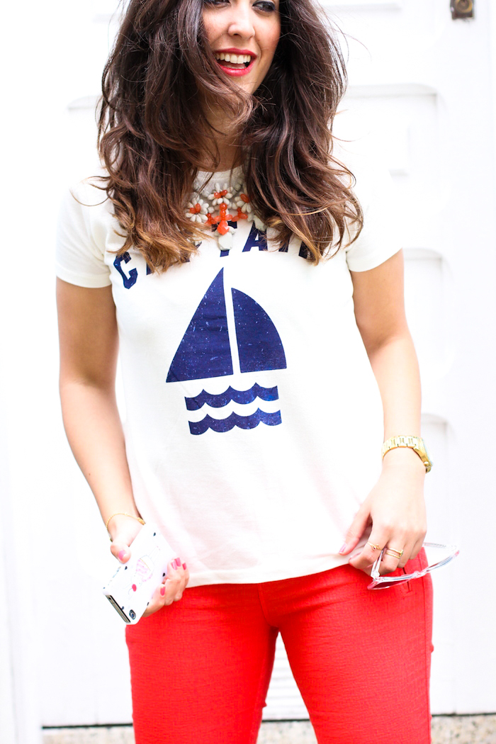 look del blog de moda estilo marinero