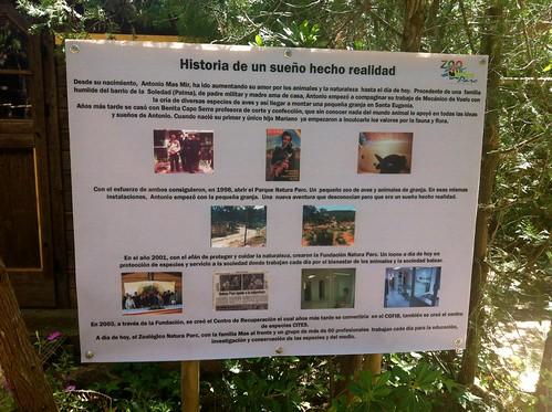 Zoo Natura Parc ( Santa Eugenia)