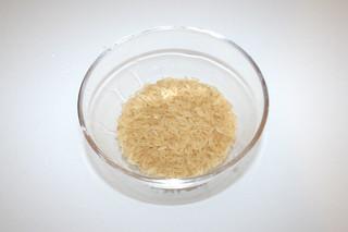 06 - Zutat Reis / Ingredient rice