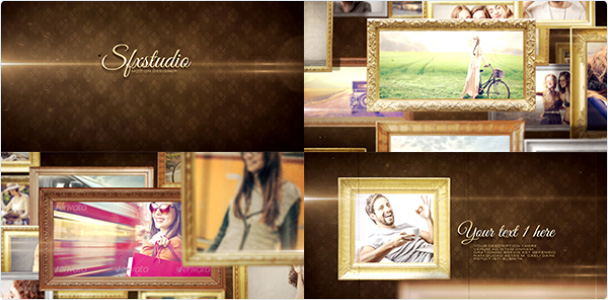 Preview_Project Old_Frame_Big_Slideshow