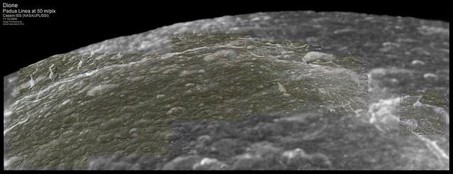 Dione - Padua Linea at 50 m/pix