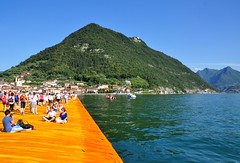 The Floating Piers, la passerella da Sulzano al Montisola