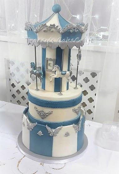 Carousel Cake by Tracey Shaw