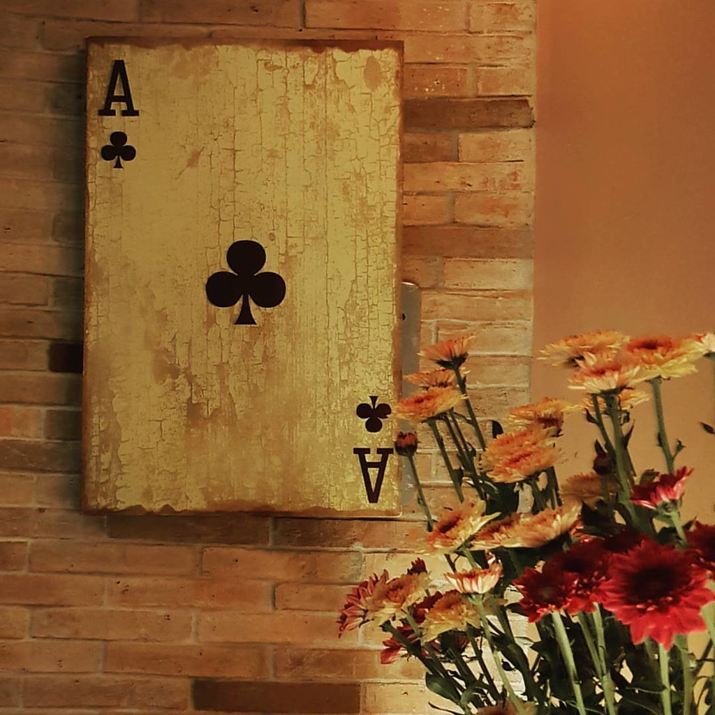 Amazing Playing Card Wall Art Pattern - Wall Art Collections ...