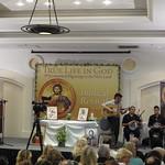 Pilgrims in Holy Land 2013