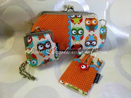 Conjunto Sweet Spring Owls by ♥Linhas Arrojadas Atelier de costura♥Sonyaxana