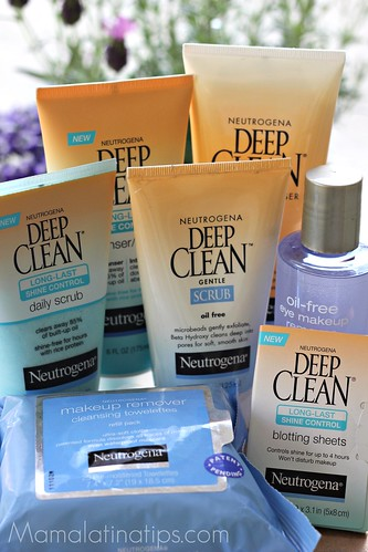 Neutrogena Deep Clean line