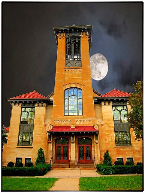 Syracuse Ny ~ First English Lutheran Church ~ Mission Spanish Architecture
