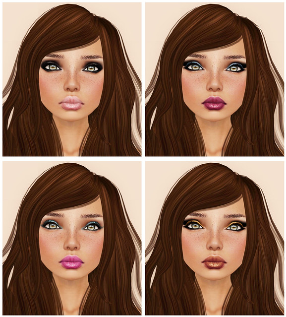 [PXL] KATE SK NE DEB FR with Matte Lips (Tattoos)