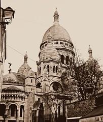 CHURCHES OF MONTMARTRE, Paris, France