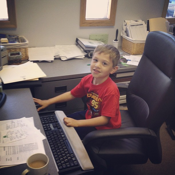 Office assistant Owen.