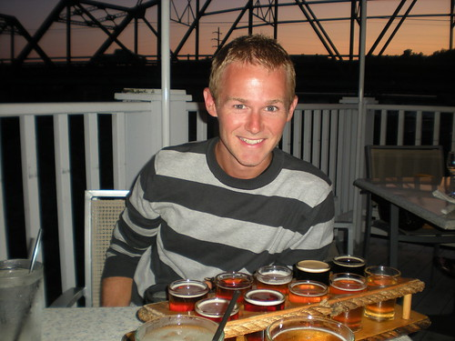 My brother Brad at Sea Dog Brewery