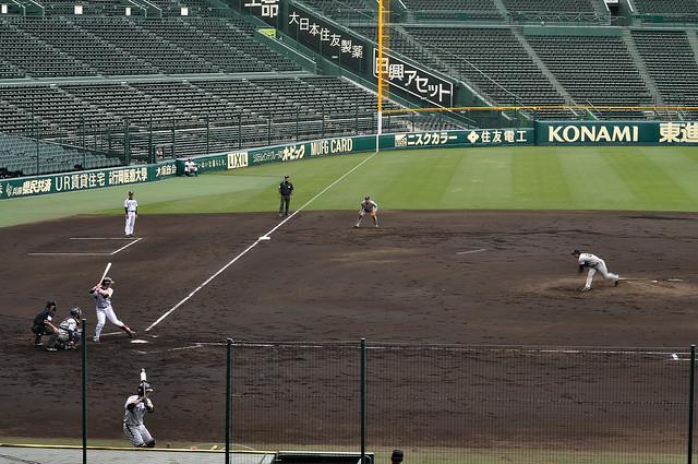 先発 井川慶投手