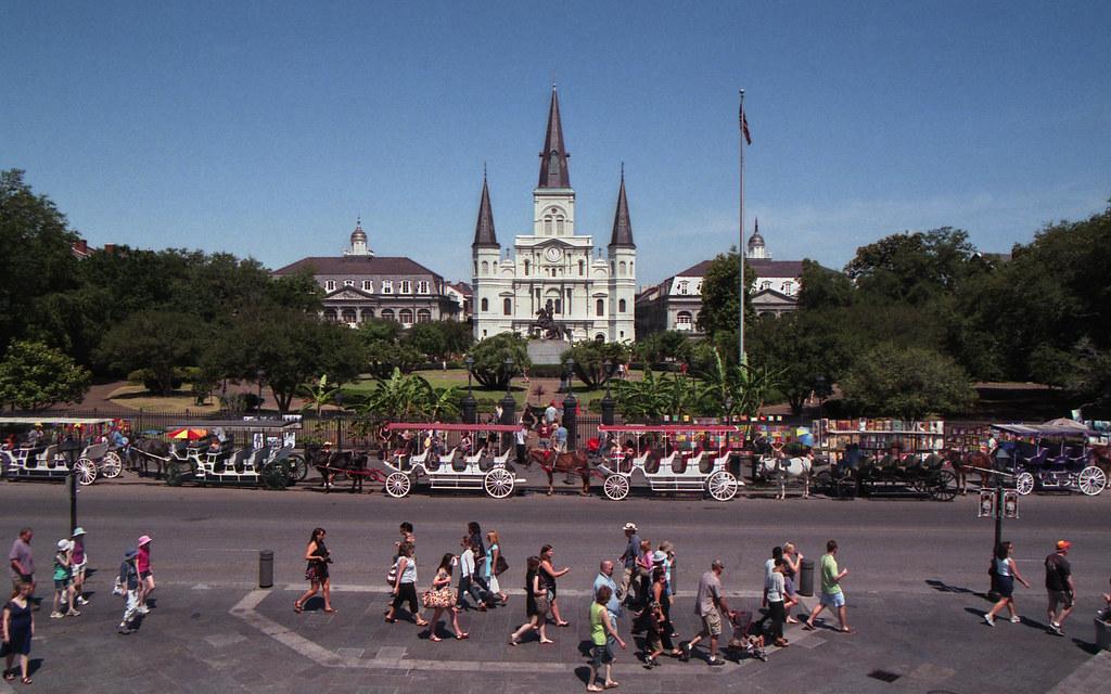 Bourbon St, French Quater, New Orleans La: Jun. '11