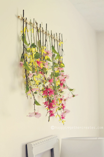 Tied Up Flowers Wall Decor