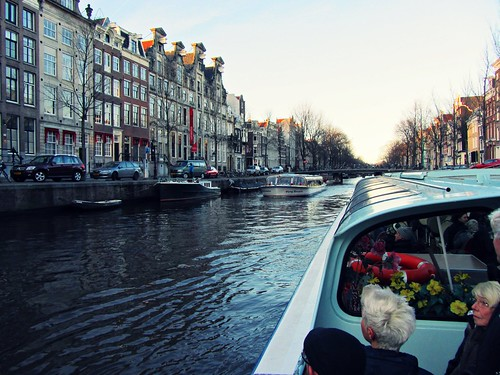 Tour the main canals of Amsterdam