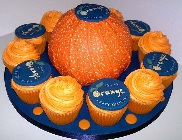 Terry's Chocolate Orange Cake and Cupcakes | Flickr - Photo Sharing!