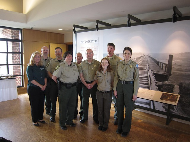 Virginia State Parks District 4 park staff.