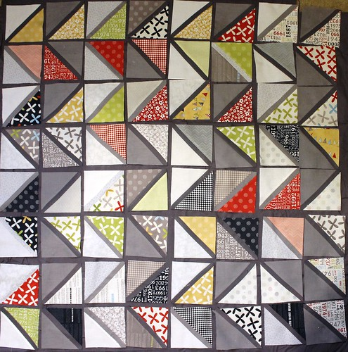 Options for Triangle HST Reunion by Moda Quilt