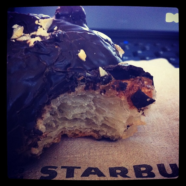 Starbucks Chocolate Hazelnut Croissant Nutrition