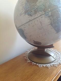 Half a globe