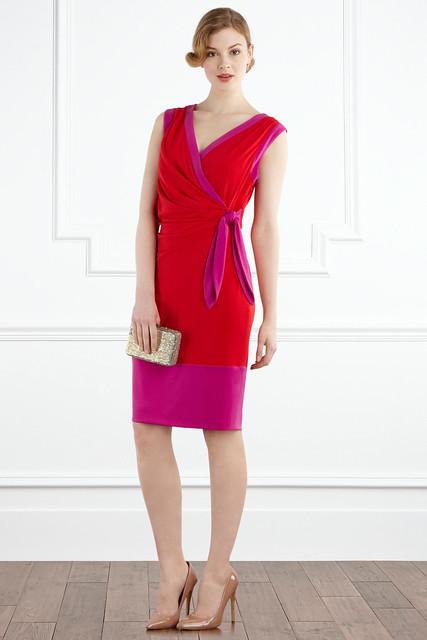 carlton colourblock dress