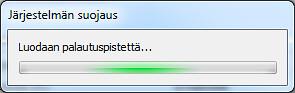 Windows 7 - palautuspiste