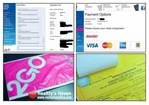 Teleserv Birth Certificate Experience